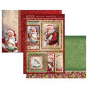 Hunkydory Die-Cut Topper Set - Santa Claus is Coming to Town